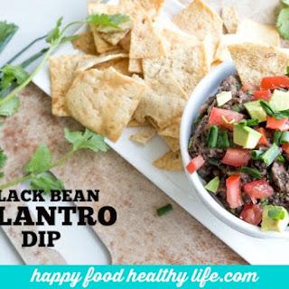 Black Bean Cilantro Bean Dip