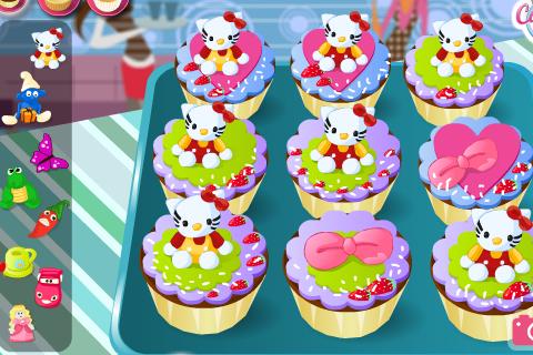 Cute Cartoon Cupcake Bakery