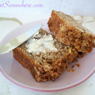 Coffee-Infused Banana Bread with Walnut Streusel Crumb Topping