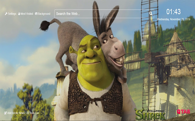 Shrek 5 Wallpapers Shrek 5 New Tab Hd