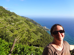 Photo: The shorter path between Corniglia and Manarola was also closed so we took the long trail again - this turned out to be the toughest leg of the trip but also very beautiful