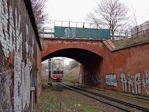 Photo: EN57-1342, Bydgoszcz Główna - Toruń Wschodni {szlak Toruń Miasto - Toruń Wschodni; 2014-03-07}