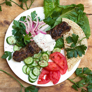 GRILLED TURKISH KOFTA KEBABS