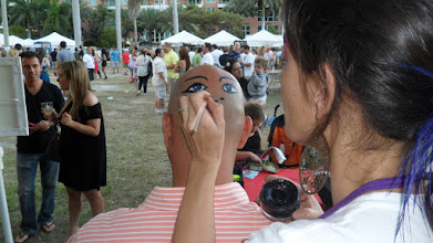 Photo: Funny Face Painting by Paola Gallardo form http://www.BestPartyPlanner.net