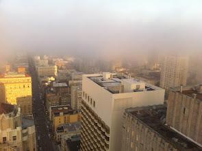 Photo: A city awakes