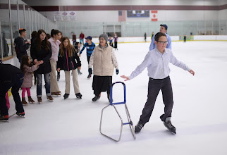 Photo: CENTENNIAL, CO. DECEMBER 25: People enjoy ice skating at South Suburban Sports Center in Centennial, Colorado on December 25, 2013. For the fourteenth year, the Denver Community Kollel Women's Division is offering a Jewish Family Extravaganza of family fun and entertainment.  (Photo by Hyoung Chang/The Denver Post)