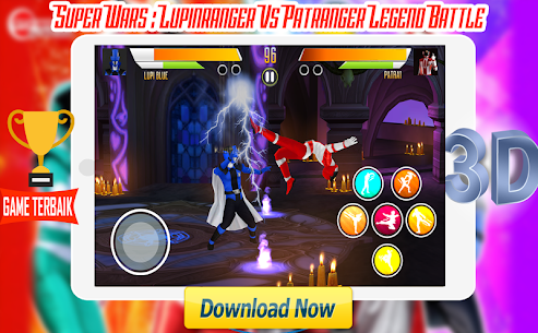 Super Wars : Lupin Vs Patra Legend Battle Apk Latest Version Download For Android 1