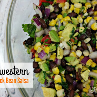 Southwestern Corn and Black Bean Salsa