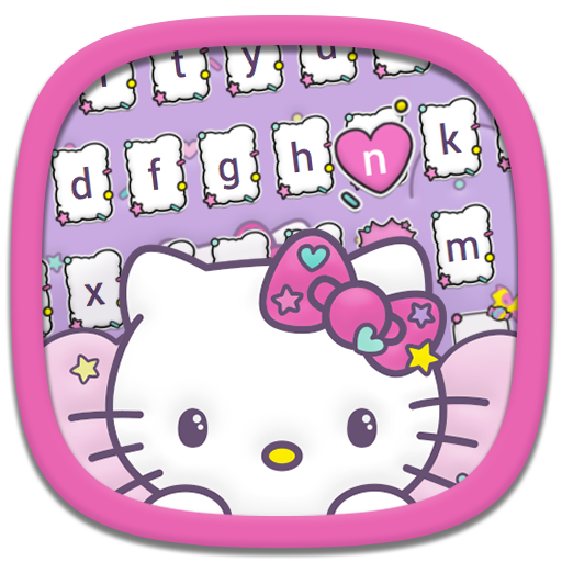 Hello Kitty Keyboard Theme