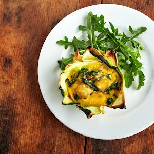 Spinach & Mushroom Mini Tarts