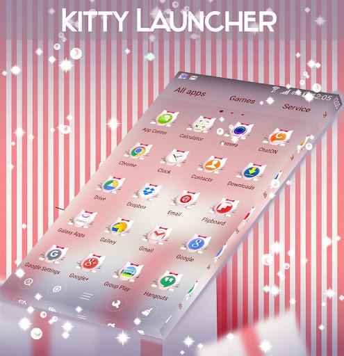 Kitty Launcher Theme ss1
