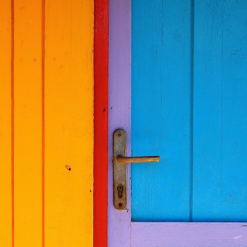 la porta dei colori di Gloria Staffa
