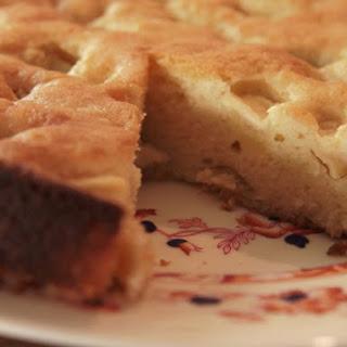 Torta Rustica di Mele (Apple Cake)