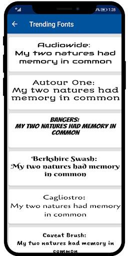 AFonts - Free Emui Fonts (Stylish Free Fonts) 2.0 screenshots 3