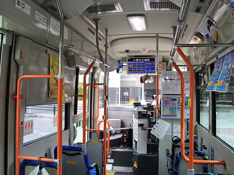 大阪バス 久宝寺出戸線 ・・32 車内