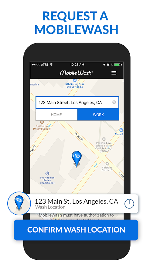 MobileWash - The Ultimate On-Demand Car Wash App- screenshot
