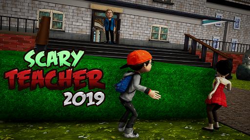 Crazy Scary Evil Teacher 3D - Spooky Game 1.1 screenshots 6