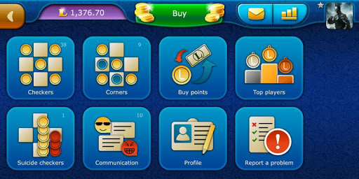 Checkers LiveGames - free online game 3.86 5