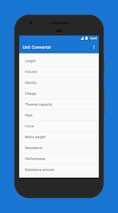 Unit Converter Screenshot