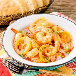 Lemony Barbecue Shrimp
