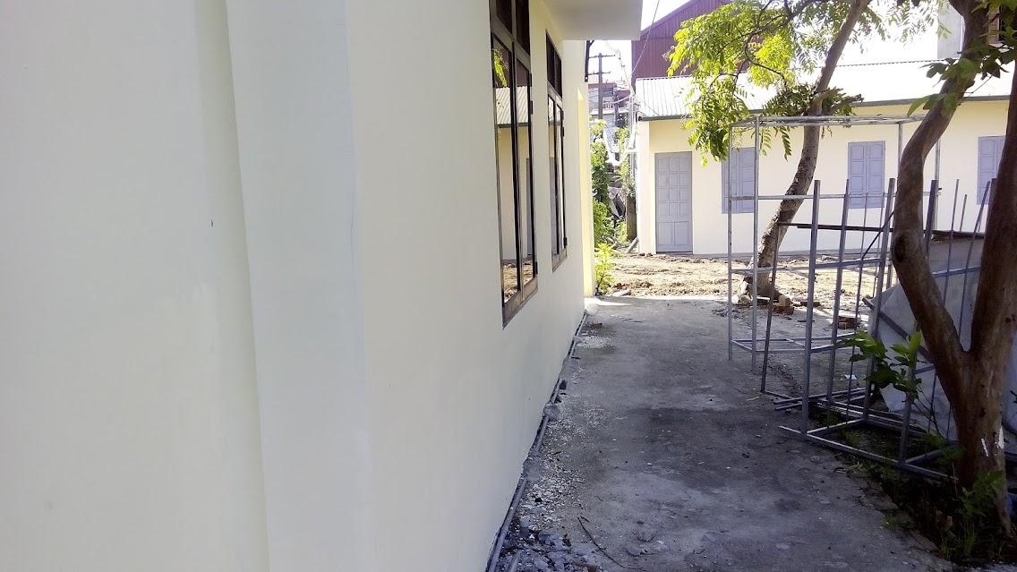 phía bên phòng học