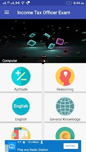 Income Tax Officer Exam App Download For Android 1