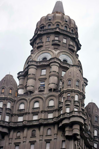 montevideo building.jpg - Some of the classic architecture that can be seen throughout Montevideo, Uruguay.