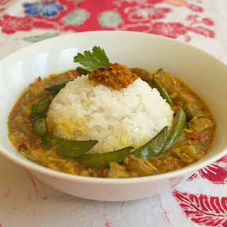 Arousing Appetites' Thai curry from scratch.