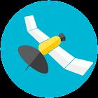 GPS info (plus GLONASS) icon