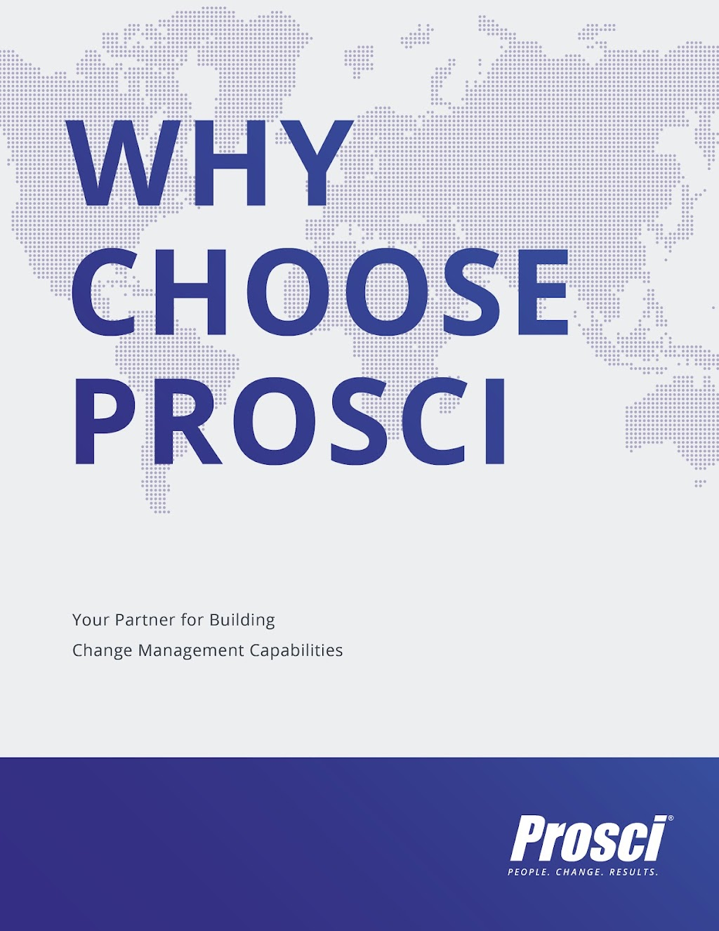 Why Choose Prosci Ebook Cover