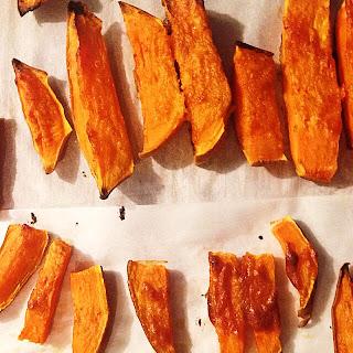 Tahini Glazed Sweet Potatoes