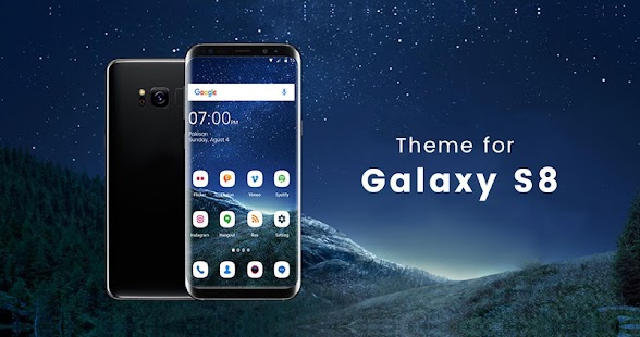 Theme for Samsung S8 Screenshot
