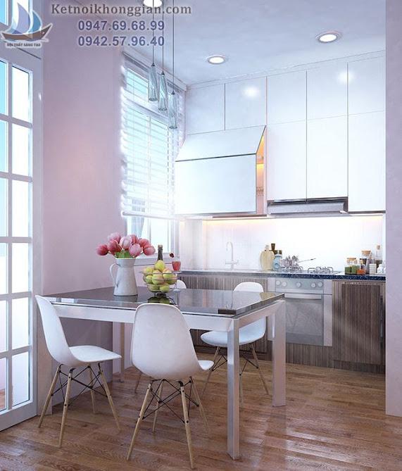 thiết kế phòng bếp đẹp mắt