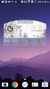 3D Daily Weather Forecast Free screenshot 1