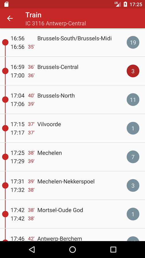 HyperRail - NMBS / SNCB Realtime (Unreleased)- screenshot