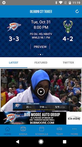Oklahoma City Thunder 2.2.6 screenshots 1