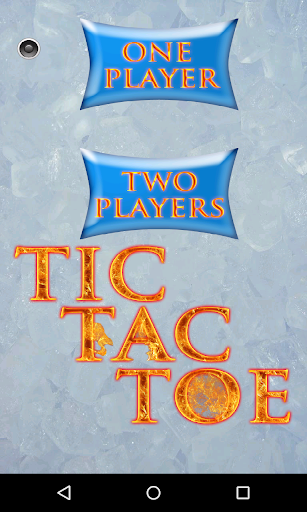 Tic Tac Toe Ice And Fire