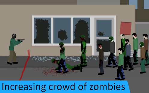 Flat Zombies: Defense & Cleanup Screenshots