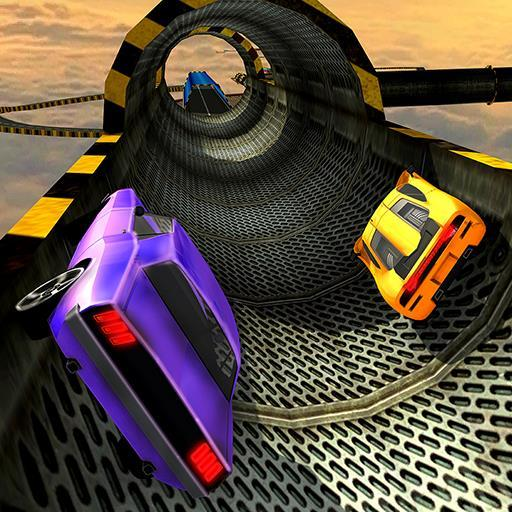 Impossible Stunts Racing Car Tracks 3D