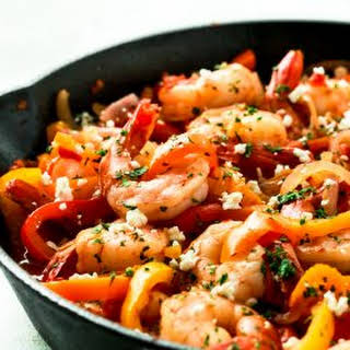Shrimp Bell Peppers Onions Recipes.