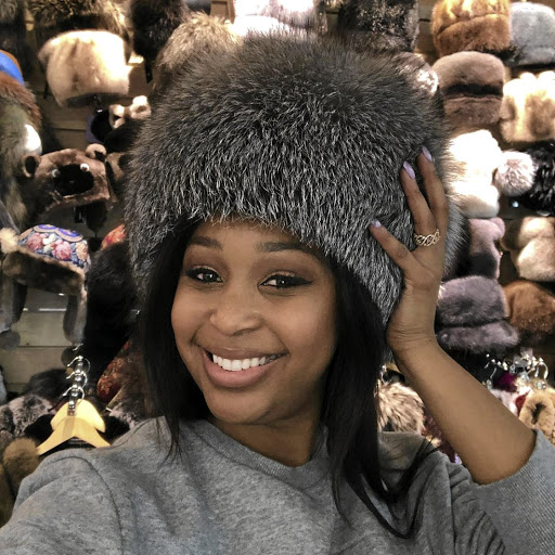 Minnie Dlamini in Russia