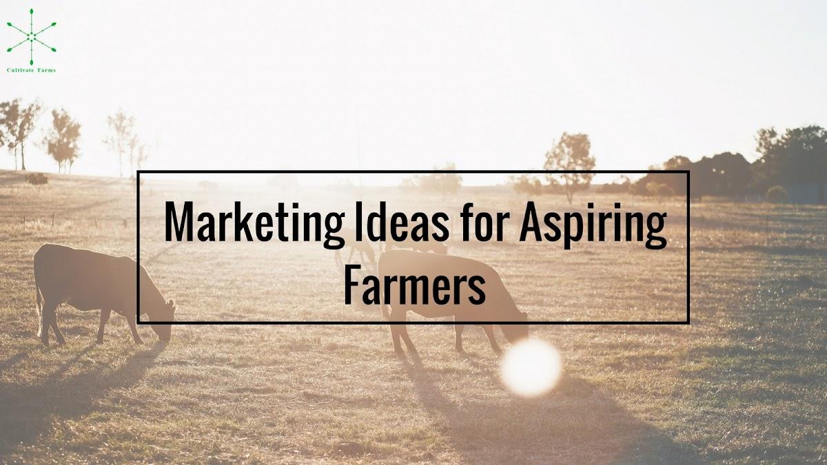 Marketing Ideas for Aspiring Farmers