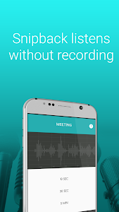 Snipback - Lifehacker smart voice recorder PRO HD 1.03 (Paid)