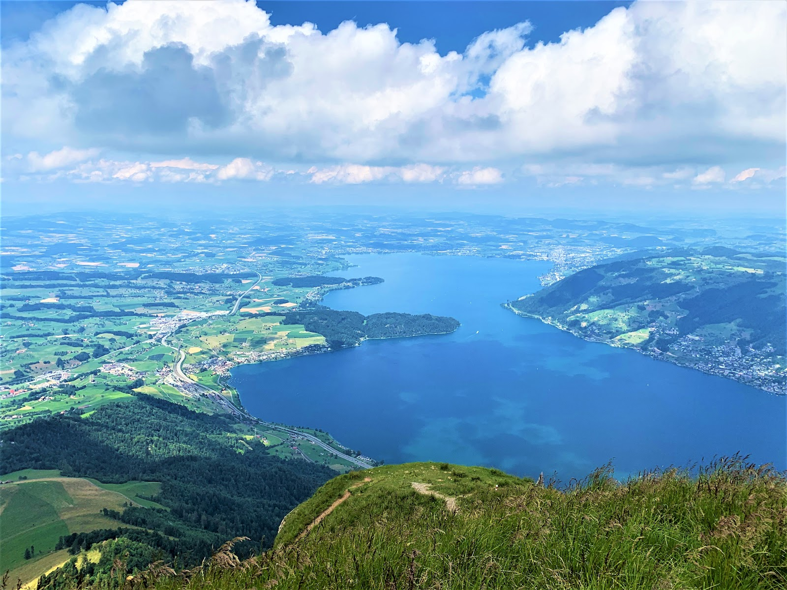 View from Rigi Kulm - how to visit Mount Rigi. Guide to visiting Rigi