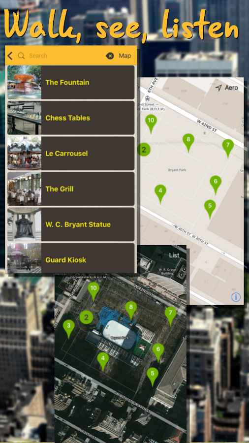 UniGuide Audio Tours and Maps- screenshot