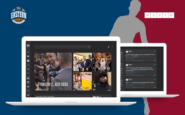 Wooow New Tab - NBA Eastern Conference