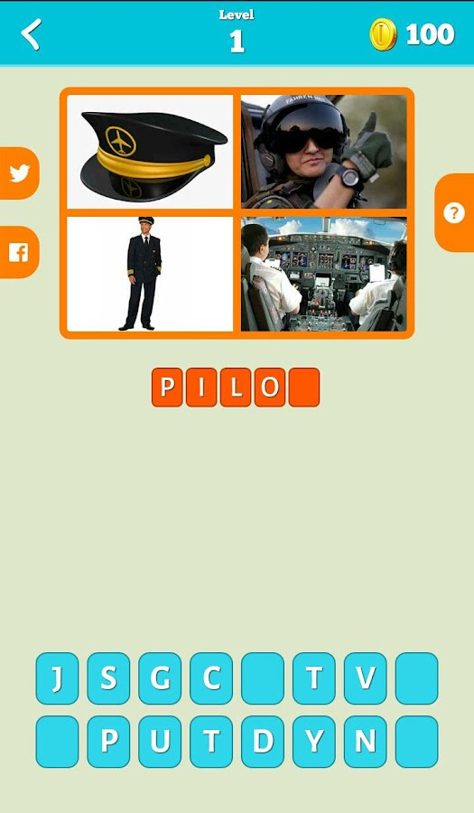 Guess 4 Pics 1 Word- screenshot