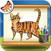 How to Draw Cats Step by Step Drawing App