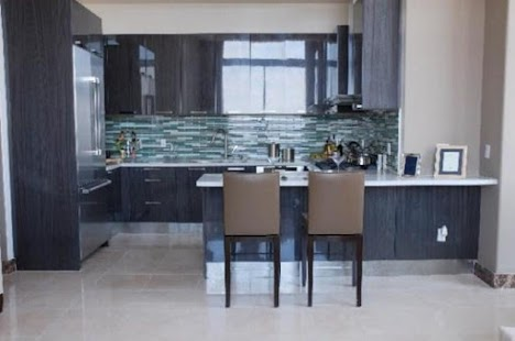 Reka Bentuk Dapur Moden Lakaran Kecil Tangkapan Skrin