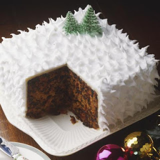 Traditional British Christmas Cake